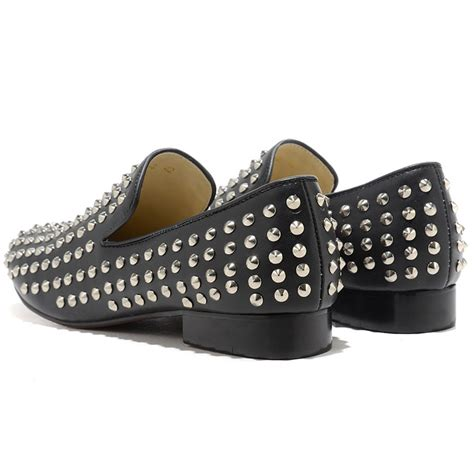 mens loafers with spikes louis vuitton mens shoes cheap
