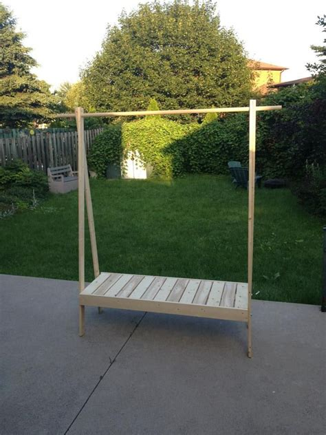 Diy Clothes Rack Wood by 25 Best Ideas About Wooden Clothes Rack On Clothes Racks Boutique Displays And