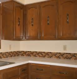 How To Install Backsplash In Kitchen Affordable Tile Backsplash Add Value To Your Kitchen Or
