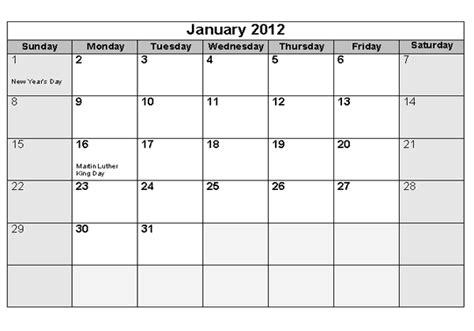 printable yearly calendars 2012 print 2012 monthly calendar calendar template 2018