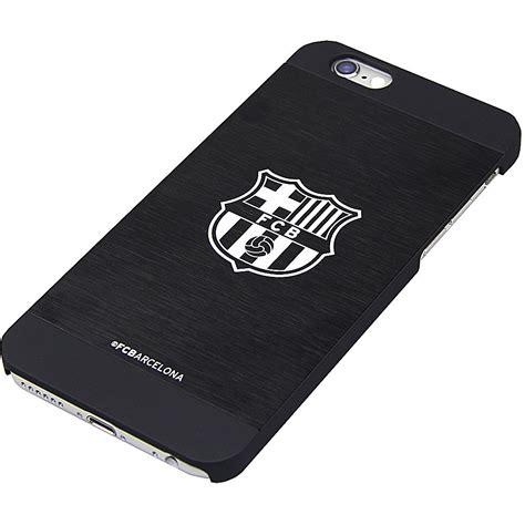 Hardcase Barcelona Football For Iphone 6 6s black aluminium back football fc licensed cover for