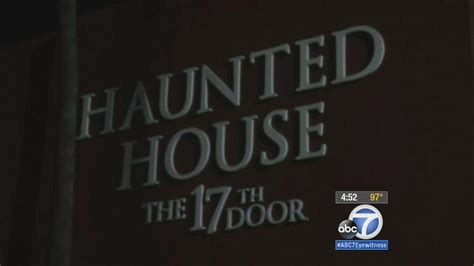 haunted house waiver tustin haunted house the 17th door requires waiver to get in abc7 com