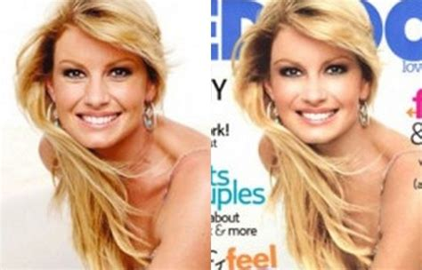 The Of Photoshop Faith Hill by Photoshop Before And After Comparing Touched Up