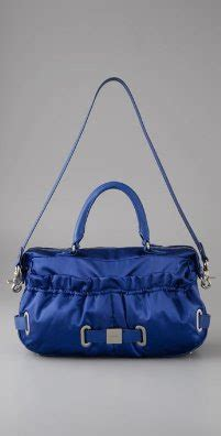 Botkier Stevie Ruched Pocket Convertible Satchel by Couture Carrie Blue Bag Bliss And Tag