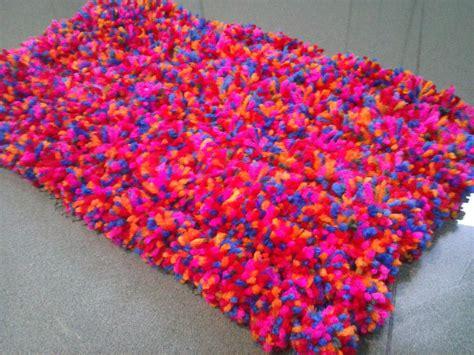 alfombra de nudos alfombra pompom youtube