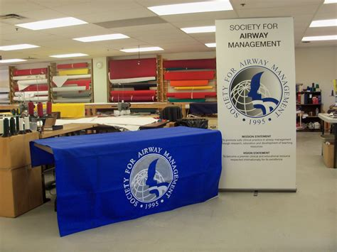 table drapes for trade shows athletics education corporate municipal events table