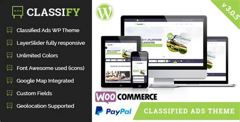 wordpress templates for advertising 19 best classifieds wordpress themes free templates