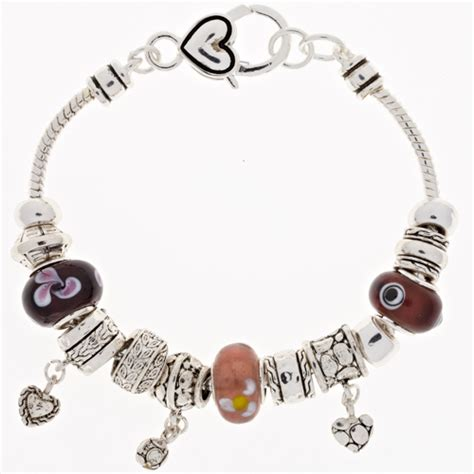 Scroll Bead Block ambrosia charm bracelets