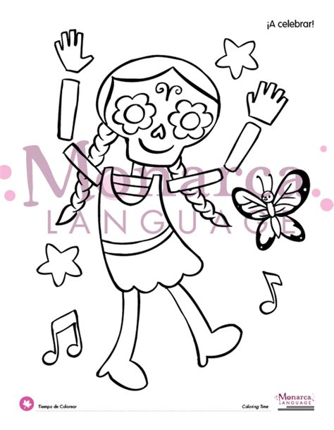 la catrina coloring pages free free coloring pages of la catrina