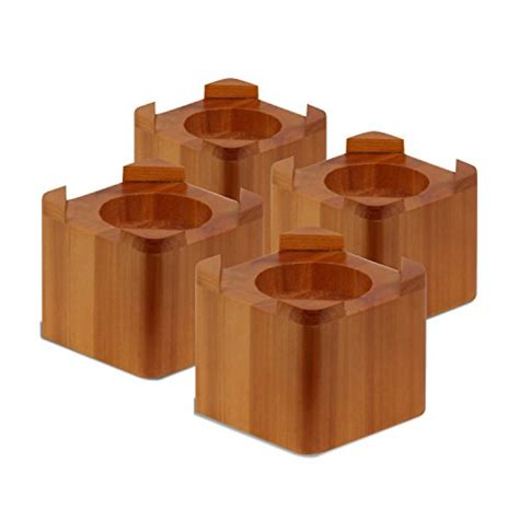 wood bed risers home depot save 1 honey can do sto 01150 wood bed lifts maple