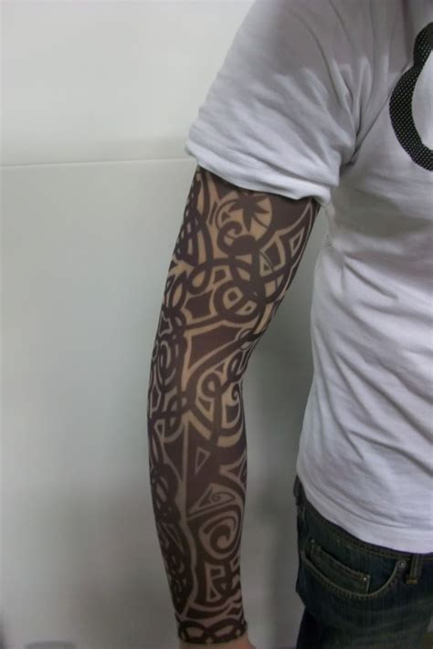 fake tribal tattoo sleeves 11 tattoos ideas project 4 gallery