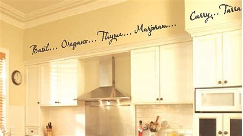 Kitchen Borders Ideas Kitchen Words Spices Wall Border Soffit Border Vinyl Wall