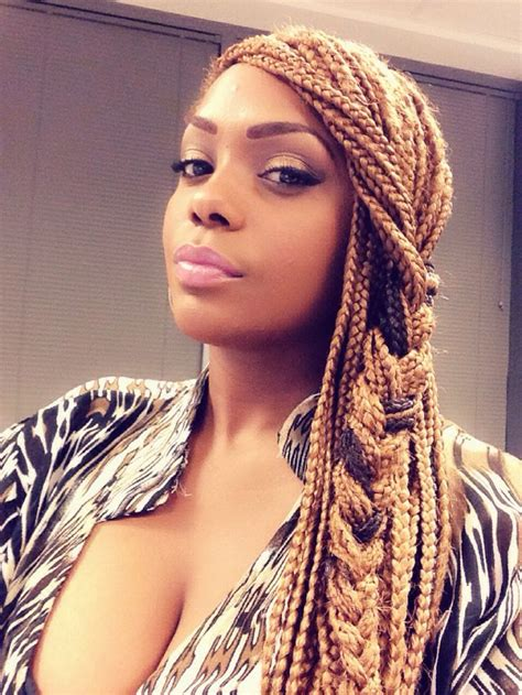 box braids hairstyle human hair or synthtic box braids hair styles box braids pinterest