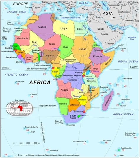 africa map hd pdf printable map of free printable africa maps free
