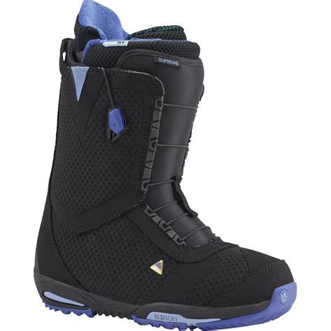 burton supreme snowboard boots s 2016 evo