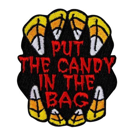Put In The Bag patch put the in the bag trick or
