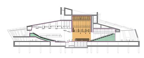 Architecture Plan gallery of wuzhen theater artech architects 39