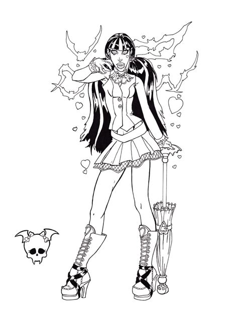 monster high coloring pages print asoboo info monster high coloring pages to print for free monster