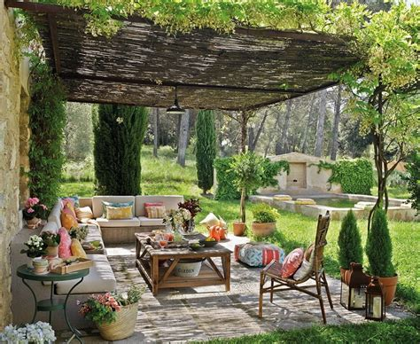 decorar jardin muebles decorar porche e ideas de muebles de exterior modernos