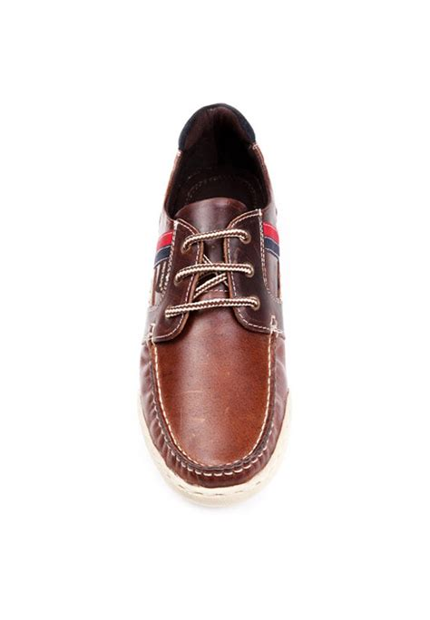 D Island Shoes Casual Leather Brown brown leather casual shoes rts7032 footwear jewellery watches sunglasses