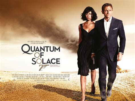 quantum of solace caly film like 007 himself james bond movie posters live to see