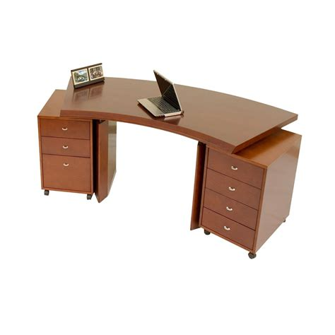 Curved Office Desk Furniture Bali Curved Desk Office Desks