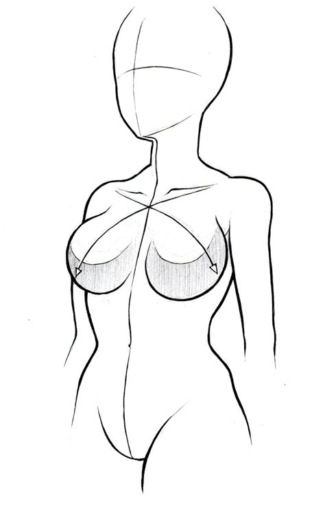 Drawing Bodies by Sketch Parts Coloring Pages