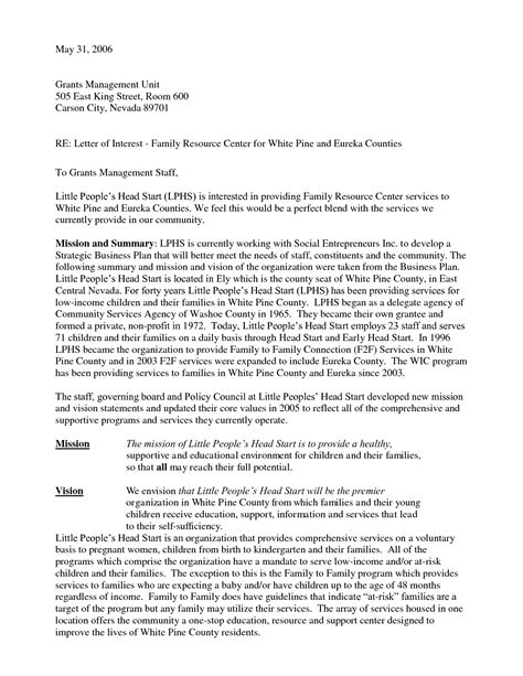 cover letter vs letter of interest how to write a cover letter of interest exle for a