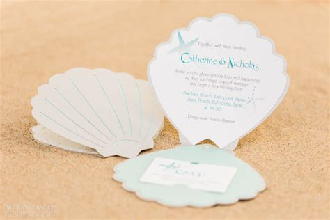 Shell Shaped Card Template by Sea Shell Themed Wedding Invitations And Accessories