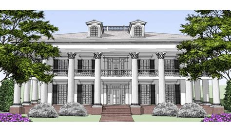 southern colonial house plans southern colonial style house plans federal style house