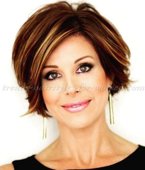 short trendy hair cut for a 50 year old smooth hairstyles for medium short hair short hairstyles