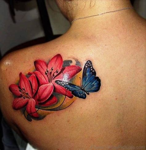 tattoo with pictures 83 dazzling lily flower tattoos on shoulder
