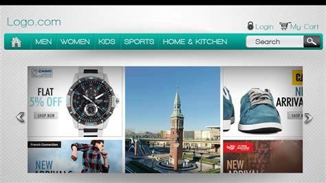 design website header using photoshop how to design unforgettable header for ecommerce website