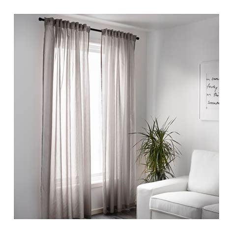 ikea vivan curtains review vivan curtains 1 pair grey 145x300 cm ikea