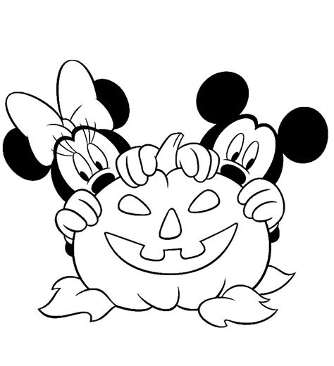 minnie mouse coloring pages halloween 24 free printable halloween coloring pages for kids