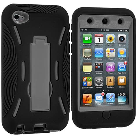 ipod touch rugged for apple ipod touch 4th generation 4g hybrid heavy duty rugged cover stand