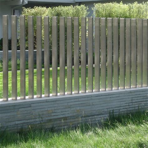 minimalist fence designs ideas fence aluminium garden design ideas i am intrigued by these vertical slats i especially like the mix of horizontal base