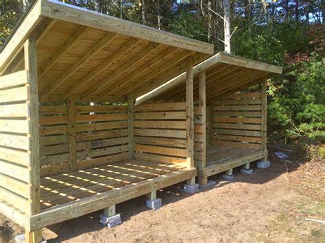 diy firewood storage ideas seasoning outdoor sheds
