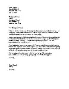 sle notice of rate increase letter template