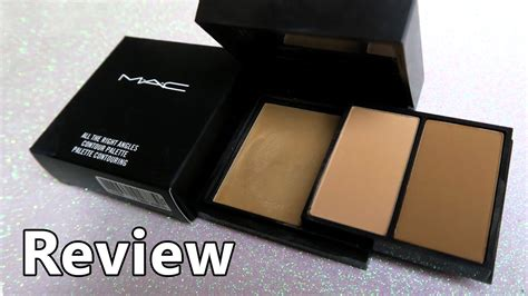 Mac Kit mac contour kit all the right places review swatches