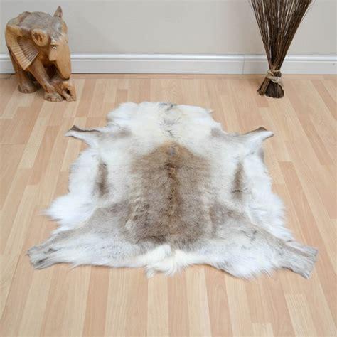 faux reindeer rug reindeer skin rugs buy from the rug seller uk