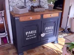 peindre au pochoir sur un meuble relooker un meuble