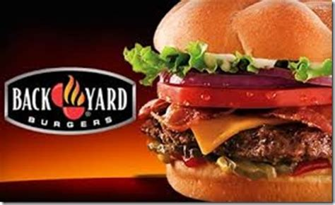 Back Yard Burgers Email Back Yard Burgers Free Classic Burger Money Saving 174