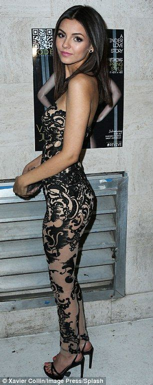 victoria justice tattoo justice looks amazing in a skin tight and
