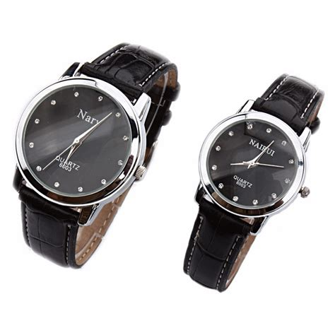 Traveller Tempat Jam Tangan Sport Isi 3 Black Crem nary jam tangan analog pria kulit 6003 black