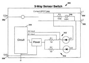 patent us7791282 motion sensor switch for 3 way light circuit and method of lighting