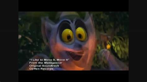 Lemur I Like To Move It Move It by King Julien I Like To Move It Move It