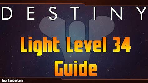 destiny 2 light level guide destiny how to get to light level 34 fast guide youtube