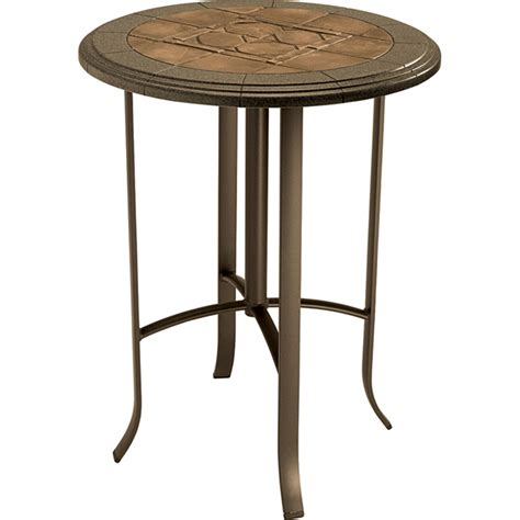Round Bar Height Table   Sosfund