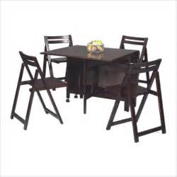 Space Saving Dining Table And 4 Chairs » Home Design